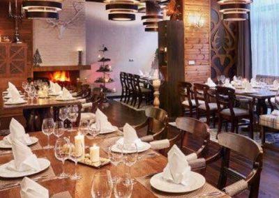 Лъки Банско, Ресторант Fondue