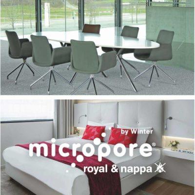 Micropore Royal&Nappa