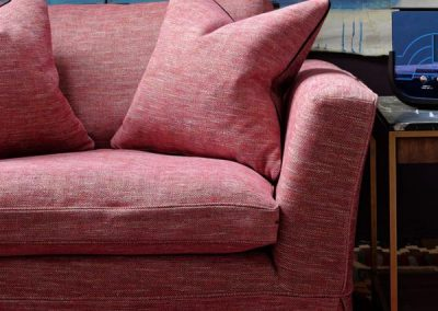 23632-cadogan-loveseat-sofa-upholstered-in-delfini-red-berry-close-up